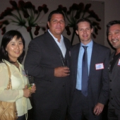 Joining in on the festivities were Tracy Kim and Richard Top from AT Media; Bill Cook, Comcast; and 3AF Board member 3AF Board Member Jon Yokogawa, interTrend.