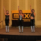 Blush, an Asian girl band, performed at the awards event. Their performance was generously sponsored by MYX-TV.