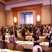 Attendees had fun during the networking activity, a new addition to the conference agenda.