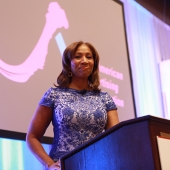 Cheryl Pearson-McNeil, Senior Vice President, Public Affairs and Government Relations, Nielsen, gave the keynote address at lunch.