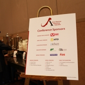 The conference was made possible thanks to many generous sponsors and our industry partners, the ANA and AEF.