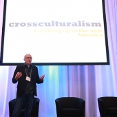 Ken Muench spoke on cross culturalism.