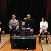 The 3AF Boot Camp included a research presentation by experts. Pictured left to right are Sharmila Fowler, moderator and President of Red Lion Consulting; Thomas Tseng, Principal and Co-Founder, New American Dimensions; Raul Lopez, Vice President, Research Services, Geoscape; and Iris Yim, Founder, Vision Strategy & Insights.