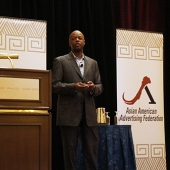 "Gerald Johnson, II, Chief Diversity Officer and Senior Vice President of Marketing for the American Heart Association, discussed his organization's ""20/20"" goal of using engagement marketing to reach all Americans, including Asians."