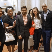 Attendees were all smiles at the 3AF Awards Reception.