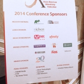 Generous sponsors helped make the conference another great success.