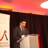 3AF President Edward Chang welcomed attendees.