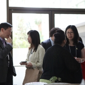 During breaks between sessions, summit attendees enjoyed networking and meeting new friends.