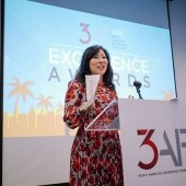 Kari Lee Cartwright, actress, comedienne and writer, served as the emcee for the 3AF 2016 Excellence Awards event.