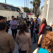 Board member Jay Kim from AAAZA gave attendees a brief history lesson on Koreatown.