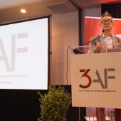 3AF President Jay Kim kicked off the Summit by welcoming attendees, recognizing 3AF members and new members and thanking our generous sponsors.