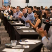 Attendees were captivated by the Summit speakers and panelists.