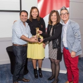 Two new award categories were added, including 3AF PR Campaign of the Year. Winning the PR Award was AAAZA for their work on MoneyGram's Cricket Bee.