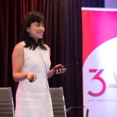 Iris Yim, 3AF Vice President and President of Sparkle Insights, gave an overview of the 3AF's inaugural media consumption study.