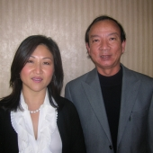 3AF President Nita Song welcomed John Dao, sales manager, Vietnamese Broadcasting Services, at the annual membership meeting.