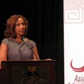Cheryl Pearson-McNeil, Senior Vice President at Nielsen, provided an overview of Nielsen's national initiatives with a spotlight on efforts in the Asian American market. Nielsen was also a sponsor of the conference.
