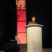 Nita Song, 3AF president and president of IW Group, Inc., made opening remarks about 3AF.